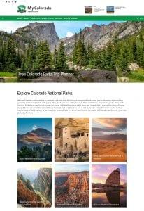 My Colorado Parks Website